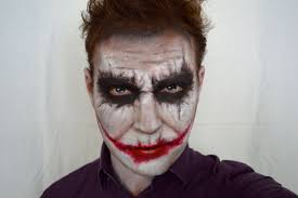 Cool Halloween Makeup Ideas For Men by The Joker Heath Ledger Dark Knight Version Halloween Makeup