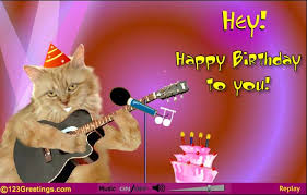 Happy Birthday Wishes For Singer Card Invitation Design Ideas Singing Greeting Cards Rectangle