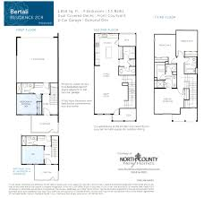 triton square new homes floor plan 2 north county new homes