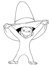 free printable cartoon coloring pages curious george coloring pages free printable cartoon coloring