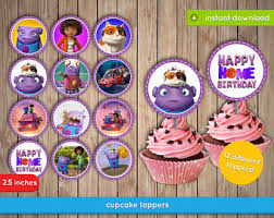home cupcake toppers etsy