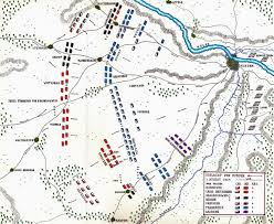 King Of Prussia Map Battle Of Minden Seven Years War