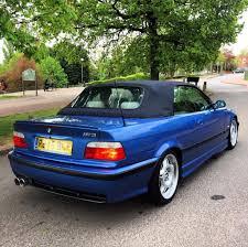 Bmw M3 1998 - 1998 bmw 323i convertible full m3 replica estoril blue rare heated
