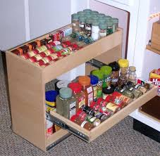 spice rack kitchen cabinet pull out under a smart solution for