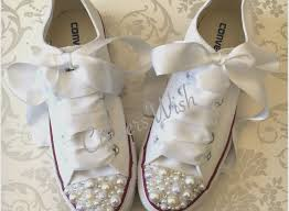 wedding shoes converse pearl wedding shoes unique pearl converse bridal converse wedding