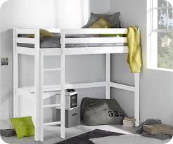 mezzanine chambre enfant pack lit enfant mezzanine cargo blanc 90x190 cm