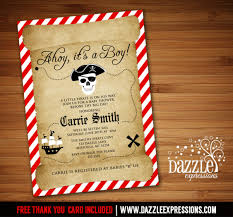 interesting pirate baby shower invitation 33 for your baby shower