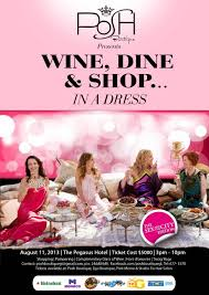 wine dine shop in a dress gtvibes
