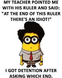 Memes Jokes - funny minion joke about students vs teacher fit pinterest