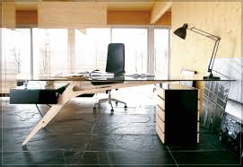 Custom Computer Desk Design by Furniture Modern Black Stained Wooden Desktop Computer Desk Which