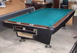 brunswick used pool tables brunswick gold crown 3 9 ft regulation used pool table acc