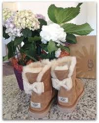 ugg mini bailey bow grey sale chestnut ugg bailey bow boots with by twiggyandtigerlily on etsy