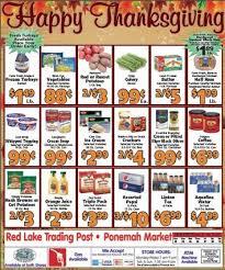 lake trading post ponemah market thanksgiving week sales