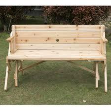 Picnic Table Bench Covers Garden Garden Bench Fresh Outsunny 2 In 1 Convertible Picnic Table