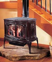 Converting A Wood Fireplace To Gas by Best 25 Gas Stove Fireplace Ideas On Pinterest Wood Burner