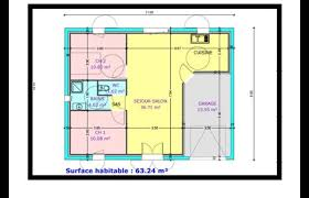 plan plain pied 2 chambres frais plan maison plain pied 2 chambres idées de décoration