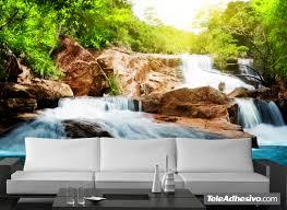 fotomurales rapidos del rio fotomurales de paisajes pinterest fotomurales rapidos del rio