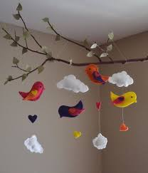 birds tree mobile kid room decor check it out it s so