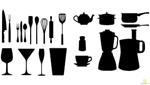 Free Silhouette Images Wonderful Kitchen Utensils Silhouette Vector Free Tools Image