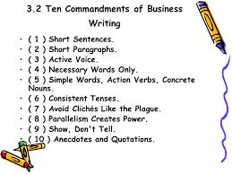 ten resume writing commandments part six practical writing i ppt
