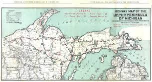 Nd Road Map Best Photos Of Map Of Upper Peninsula Michigan Upper Peninsula