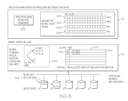 patent us20110153373 two layer data architecture for reservation