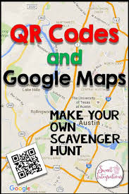Google Google Maps Qr Codes And Google Maps In Teaching Map Skills Qr Codes