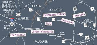 Map Of Northern Virginia The Essential Guide To Northern Virginia Wine Country Vinepair