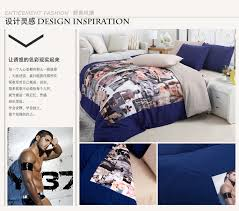 Original Duvet Covers Original Family Men Bed Quilt Cover Duvet Cover Piece Set 3