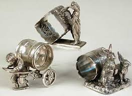 vintage rabbit ring holder images 411 best napkin rings victorian silver images by elaine gitzel jpg