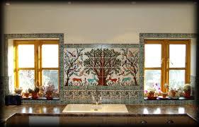 kitchen tile murals tile backsplashes kitchen backsplash landscape tile murals tile murals for kitchen