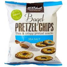 pretzel delivery meyer bakery pretzel chips sea salt 5 oz kosherfamily online
