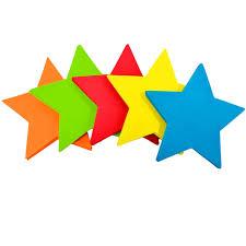 creatology foam shapes star