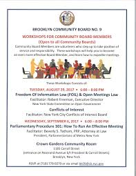 Brooklyn Community Board Map Parliamentary Procedure 101 How To Run An Effective Meeting