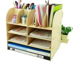 Desk Pencil Holder Menu Life Office Supplier Storage Cabinet Wooden Desk Storage Box