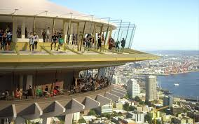 seattle s space needle is getting a glass bottomed dining room
