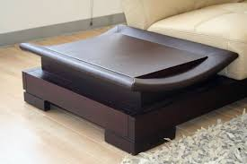 Leather Top Coffee Table Coffee Table Remarkable Leather Coffee Table Design Round Storage