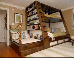 Three Person Bunk Bed Awesome 4 Person Bunk Bed Three Would Probably Fit Better