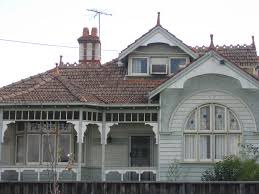 Queen Anne Style by A Weatherboard Queen Anne Style Mansion Moonee Ponds Flickr