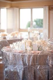 a glamorous silver u0026 blush beach wedding linens wedding and