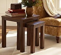 pottery barn nesting tables nesting tables pottery barn