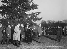 the 1923 national christmas tree and the spirit of the holiday