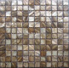 aliexpress com buy mosaic tiles coffee dark brown kitchen tile