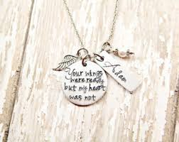 baby remembrance jewelry sale butterfly memorial necklace infant loss loss of a