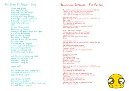 Lirik Lagu Lirik Lagu By Ithonkbabehithonk On Deviantart