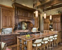 Kitchen Country Design Country Rustic Country Open Kitchen Photos