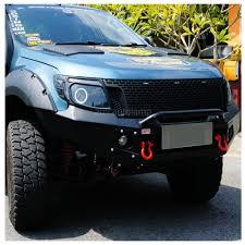 front grill ford ranger 11 15 ford ranger t6 raptor matte black grille 3 led xlt px