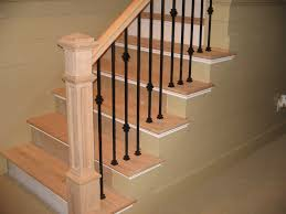 double knuckle single knuckle and plain wrought iron balusters
