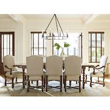universal furniture dining tables dogwood 596655 dining table