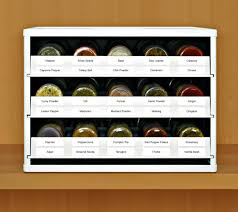 Spice Drawers Kitchen Cabinets Spicestack Organize Your Spice Bottles Like A Pro Getdatgadget
